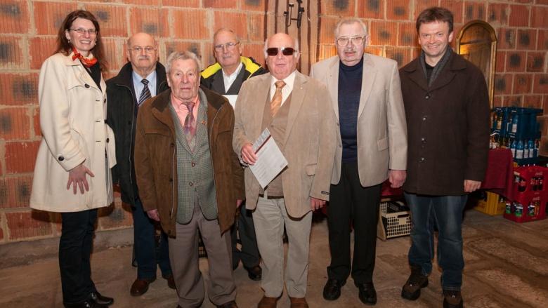 Ehrung für langjährige Mitglieder der CDU Stadtallendorf