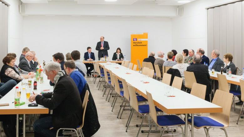 Politischer Aschermittwoch in Stadtallendorf mit Staatsminister Stefan Grüttner